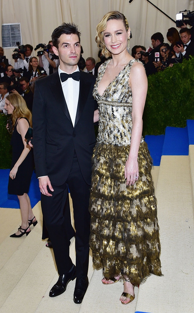 Brie Larson & Alex Greenwald -  The  Captain Marvel  star and the musician called it quitsnearly three years aftertheir engagement. Here, the two smile for the cameras at the 2017 Met Gala.