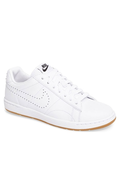 Anya Hindmarch Carrefour Leather Tennis Shoe White
