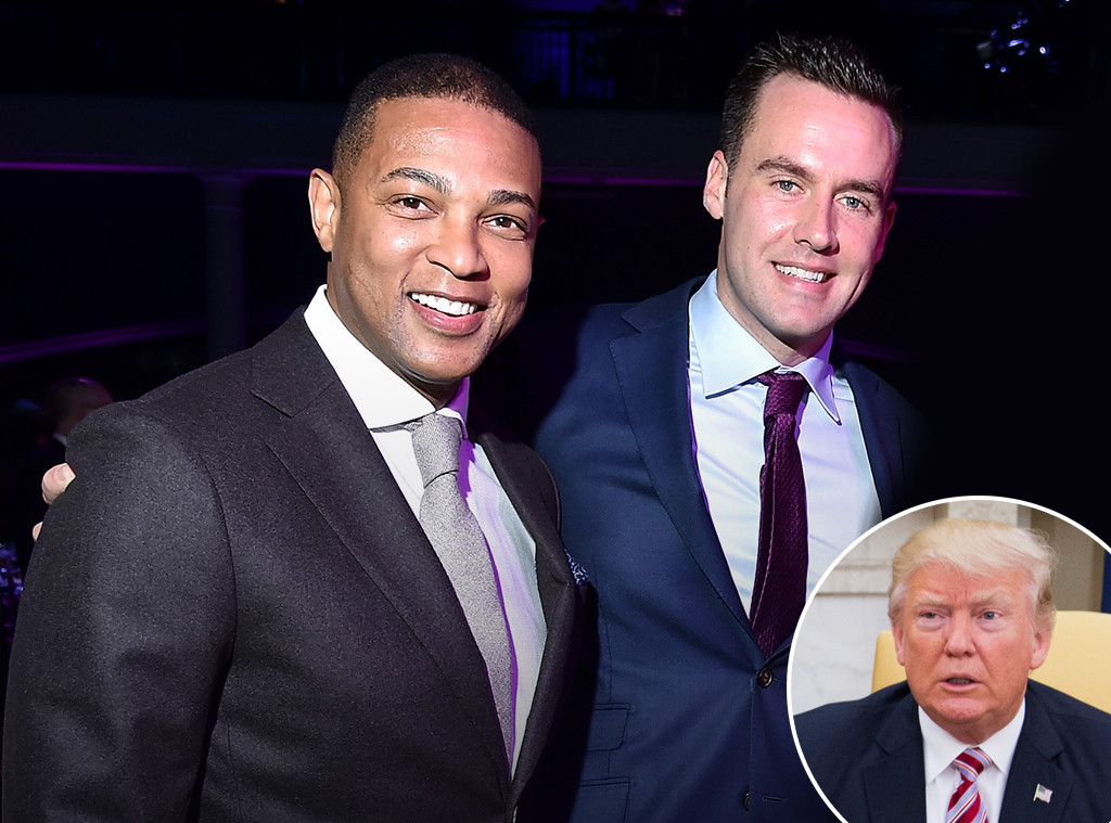 Don Lemon, Chris Cuomo, Donald Trump
