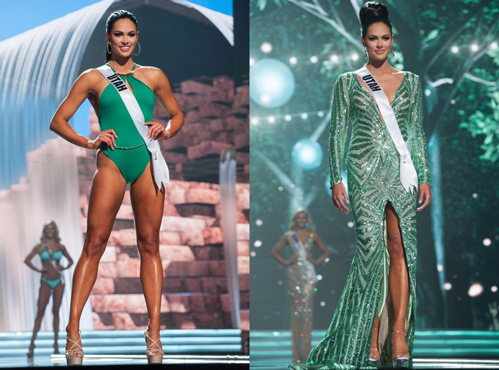 Miss Utah from Miss USA 2017 Swimsuit and Evening Looks | E! News