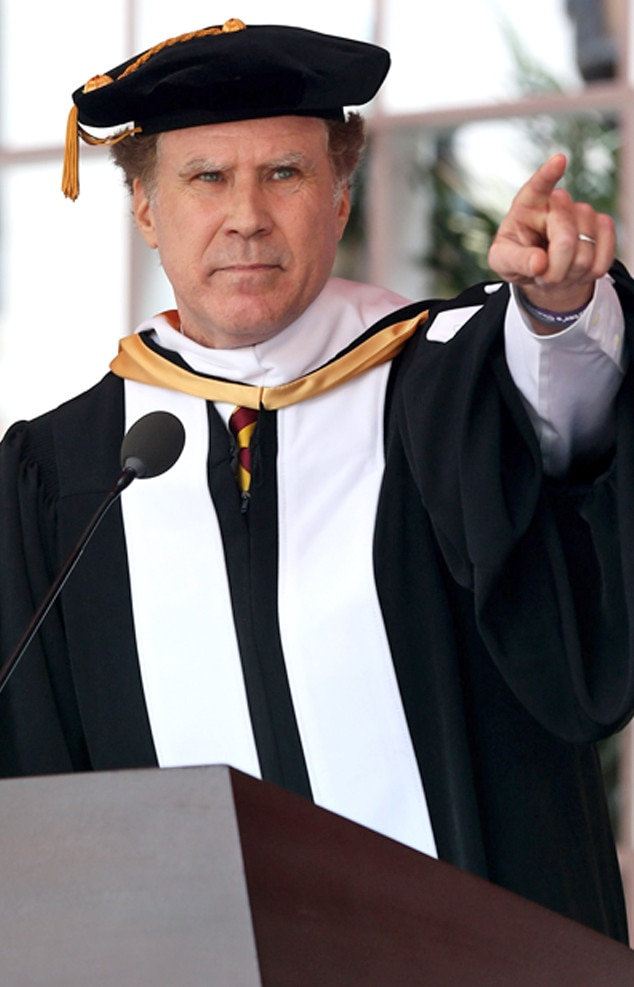 Will Ferrell -  USC's new honorary Doctor of Humane Letters makes the class of 2017 laugh so hard they cry during his commencement speech.