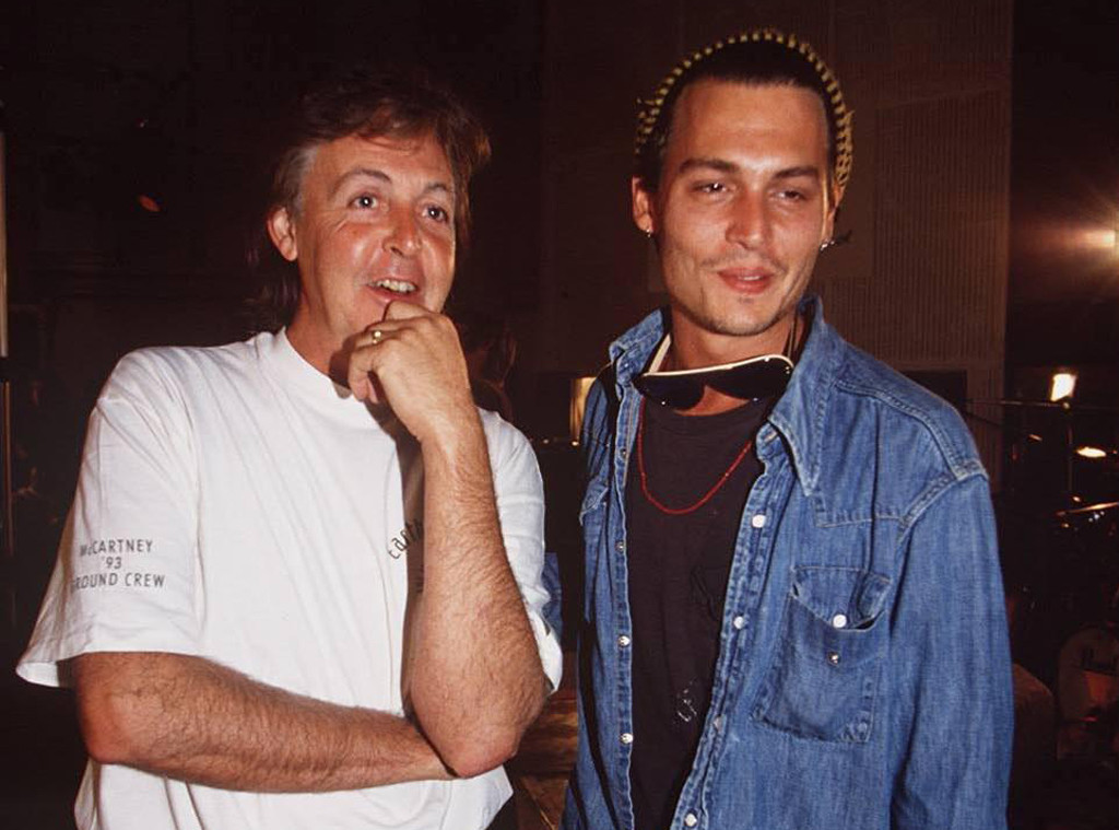 Paul McCartney, Johnny Depp