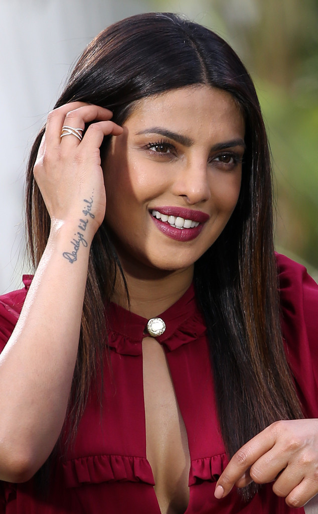 Priyanka Chopra, Tattoo