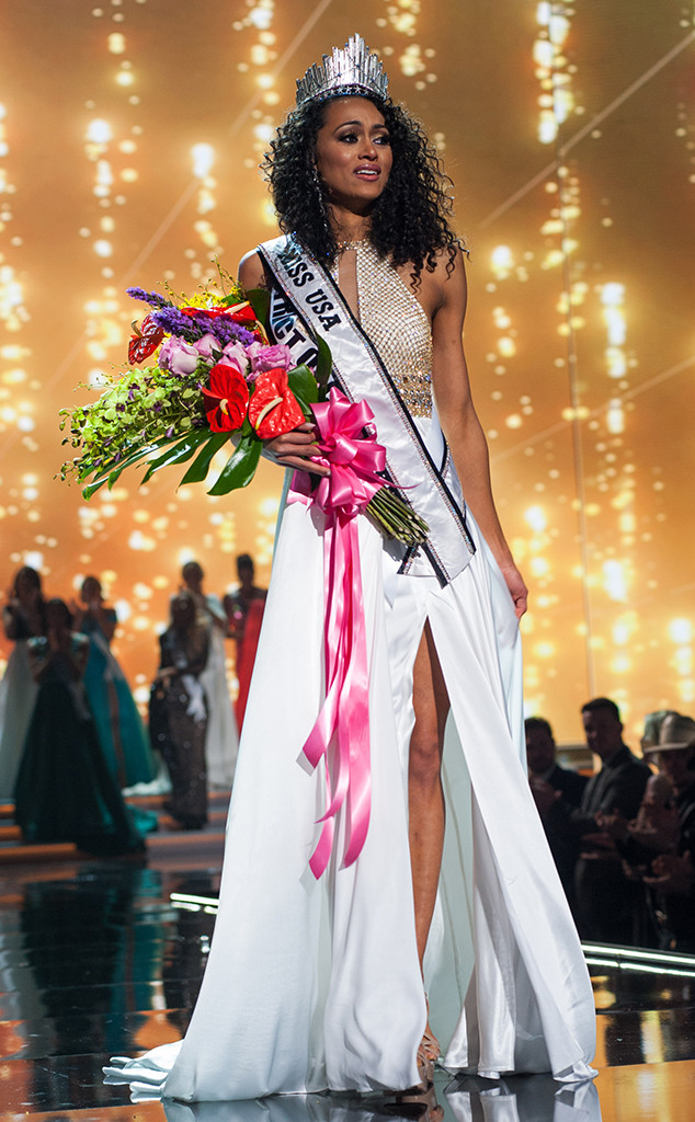 Kára McCullough, Washington DC, 2017 Miss USA, Winner