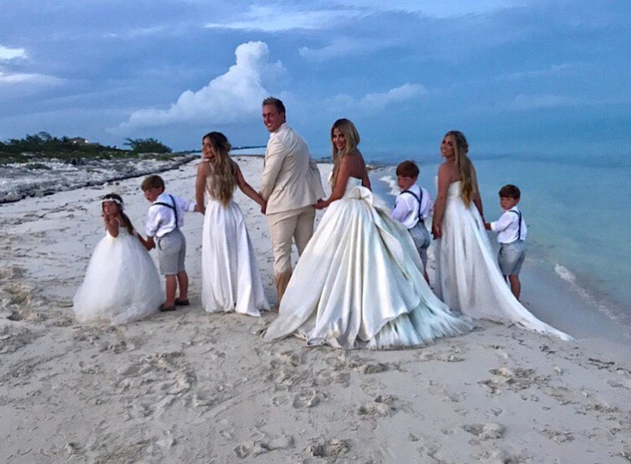 Horses, Sunsets and White Gowns Galore: A Look at Kim Zolciak ...