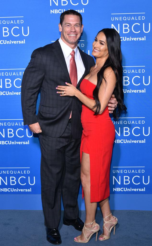 John Cena, Nikki Bella, The 2017 NBCUniversal Upfront Presentation