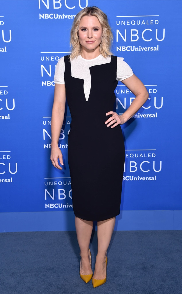 Kristen Bell From Nbcuniversal Upfront 2017 Red Carpet