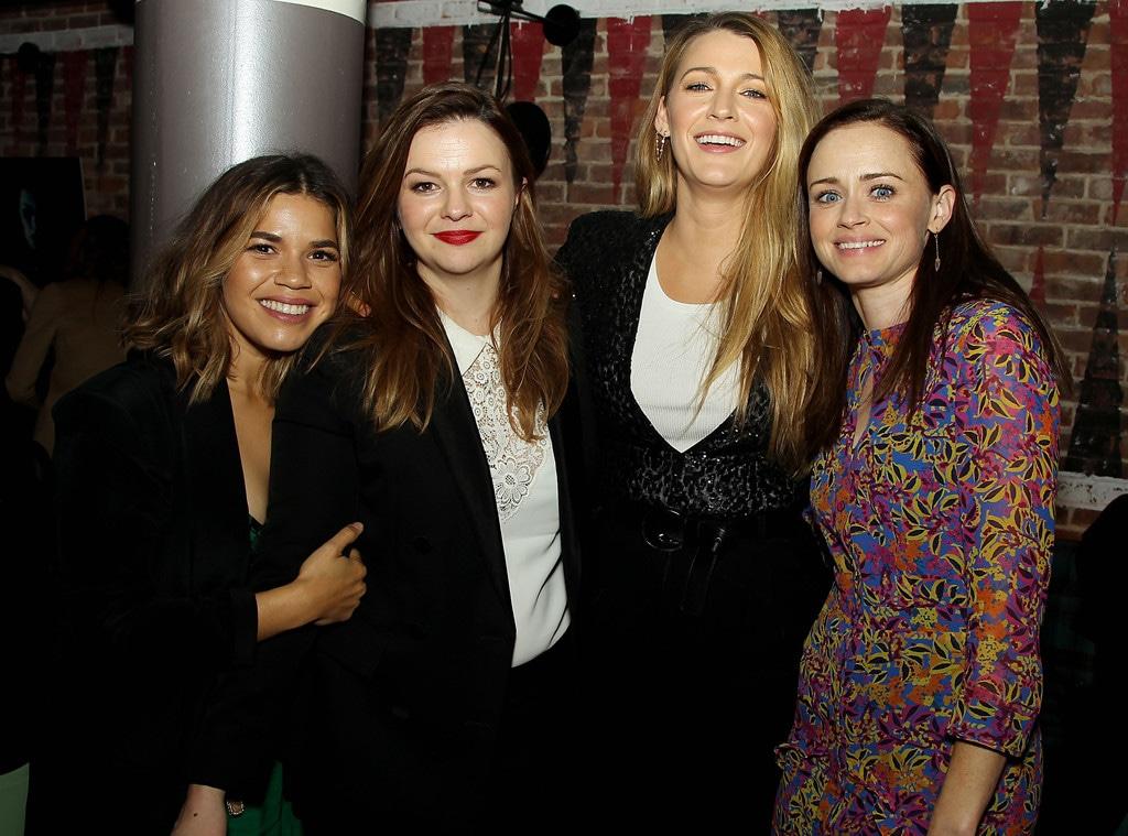 America Ferrera, Alexis Bledel, Amber Tamblyn, Blake Lively