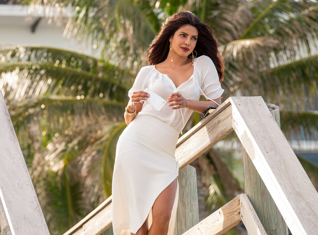 baywatch priyanka chopra pink dress