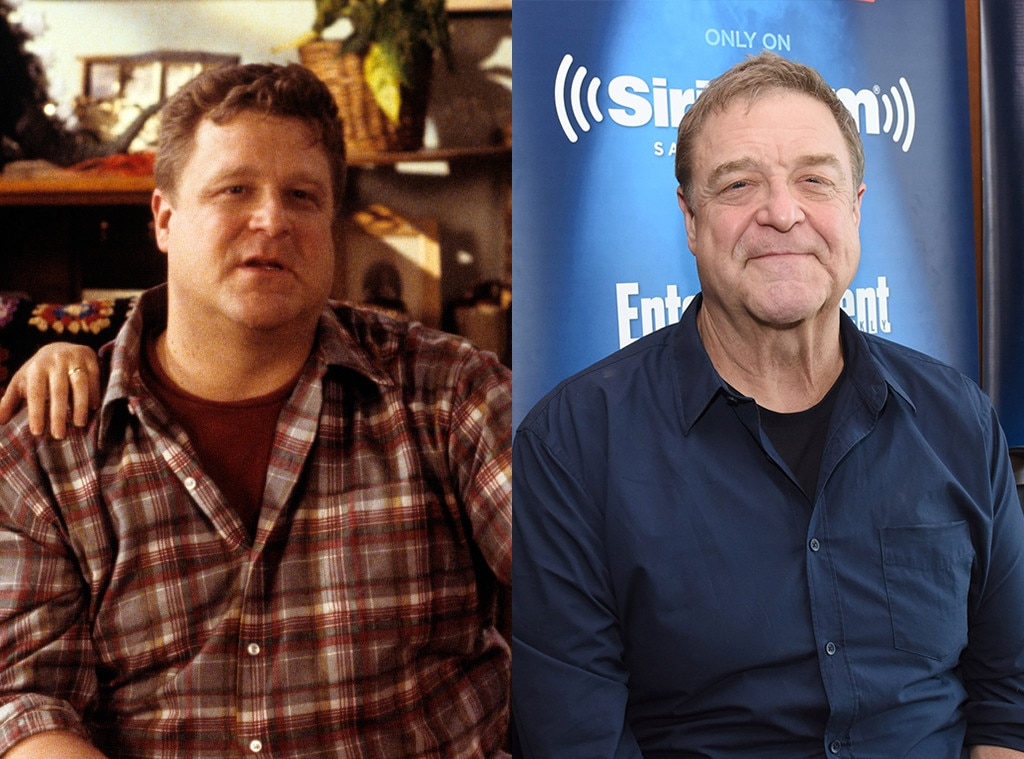 John Goodman, Roseanne: Then and Now