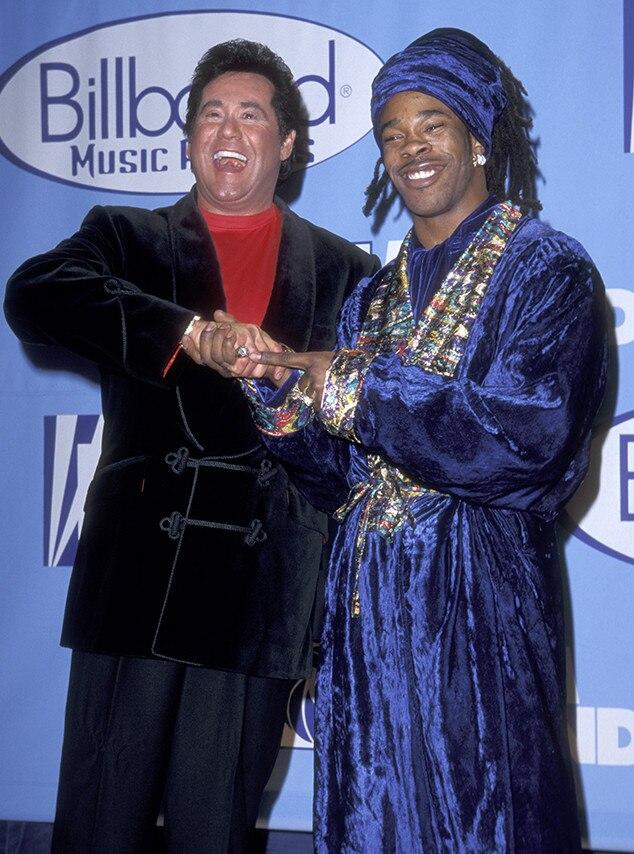 wayne newton  u0026 busta rhymes from 1997 billboard music
