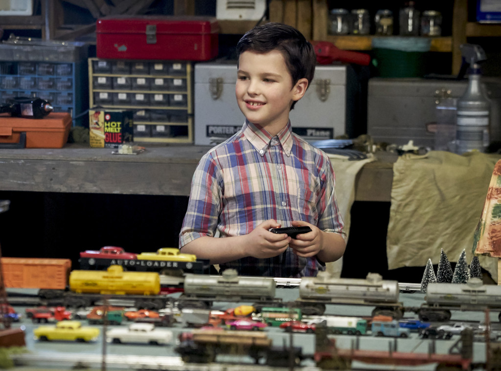 Iain Armitage, Young Sheldon