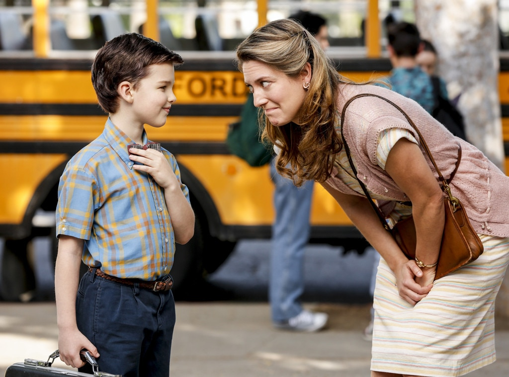 Iain Armitage, Zoe Perry, Young Sheldon