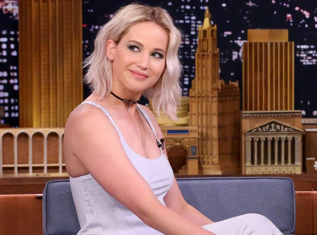Jennifer Lawrence, The Tonight Show