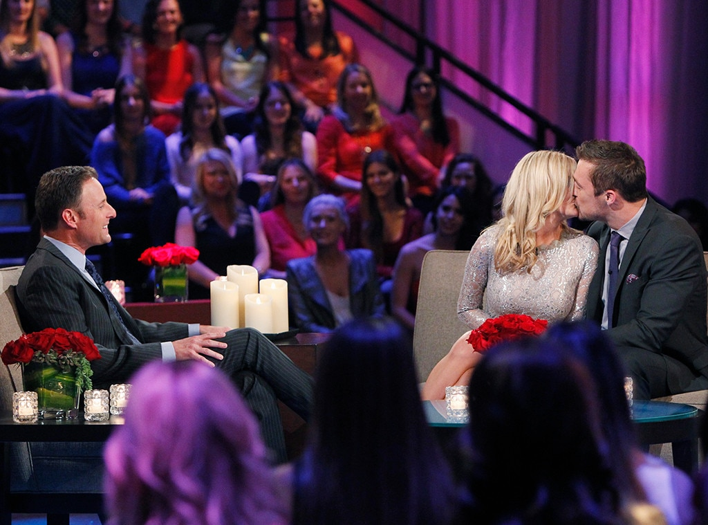Chris Soules, Whitney Bischoff, Chris Harrison