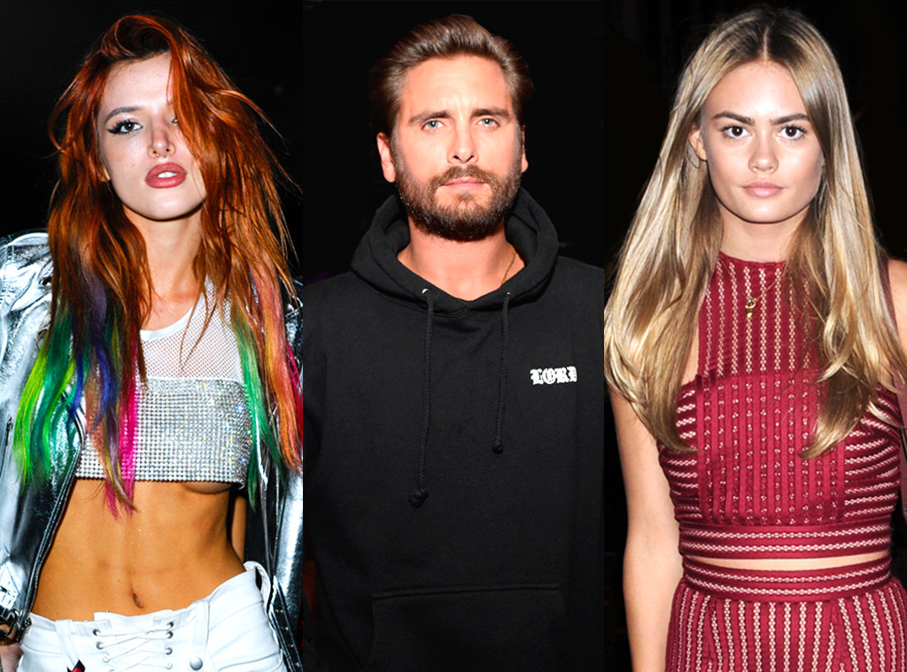 Bella Thorne, Scott Disick, Ella Ross