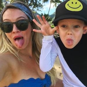 Hilary Duff, Luca Comrie
