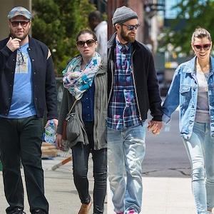 Seth Rogen, Lauren Miller, Justin Timberlake, Jessica Biel
