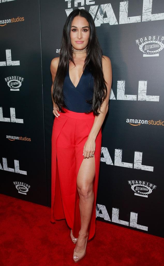 Nikki Bella Red Carpet Looks