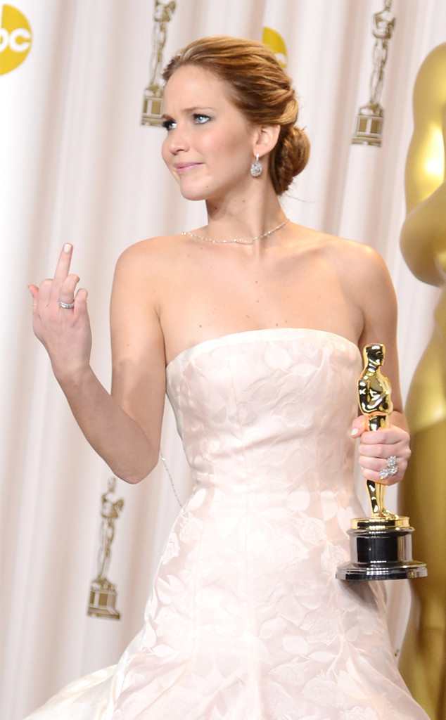 Jennifer Lawrence, 2013 Oscars