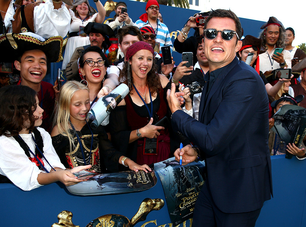 Orlando Bloom, Pirates Of The Caribbean: Dead Men Tell No Tales