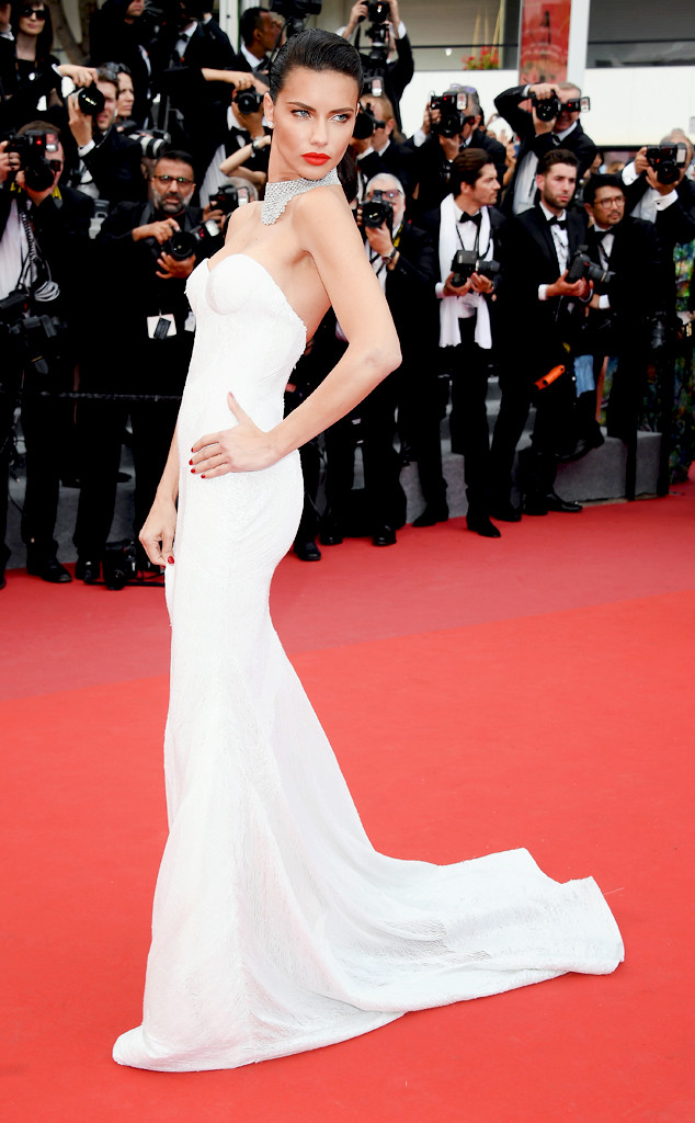 ESC: Cannes, Best Dressed, Adriana Lima