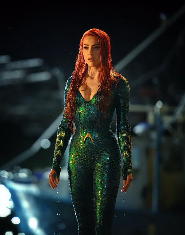 First Look: See Amber Heard as Mera in Aquaman | E! News