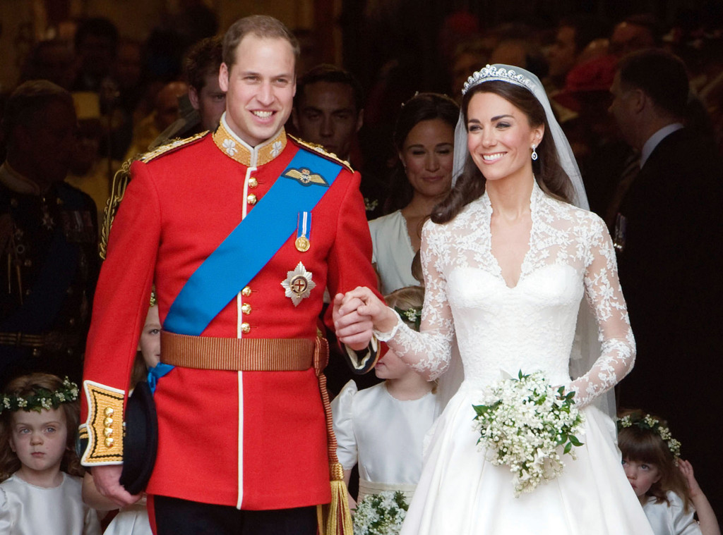 ESC: Kate Middleton, prince William, Wedding