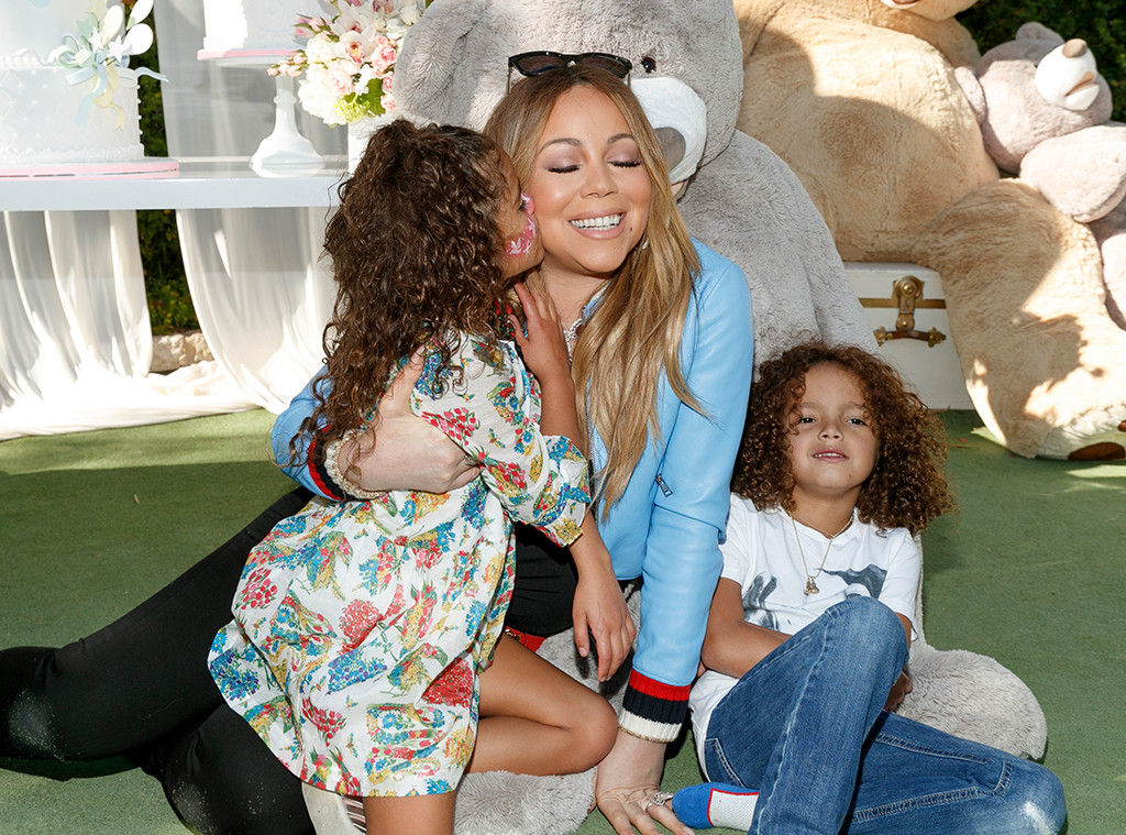 Image result for Mariah Carey with twins