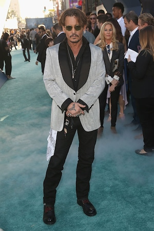 Johnny Depp, Pirates of the Caribbean Dead Men Tell No Tales, Premiere