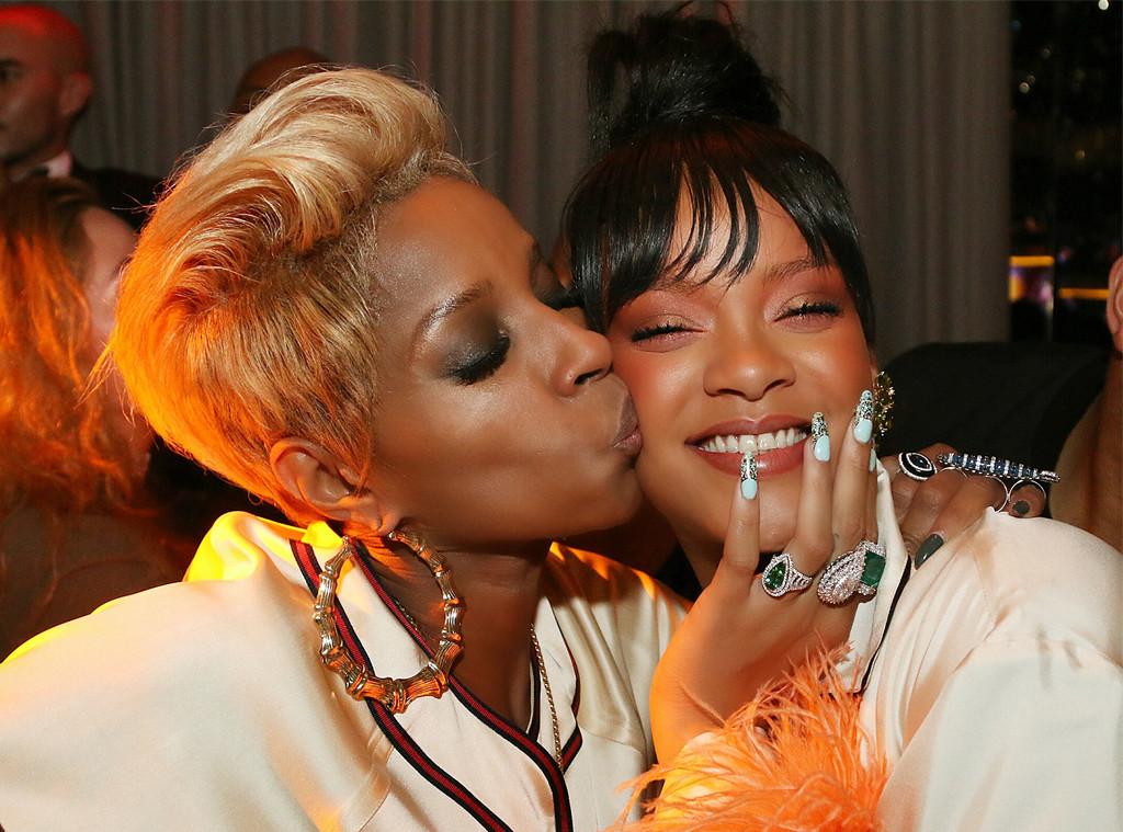 Mary J. Blige, Rihanna, The Rihanna Gala After Party