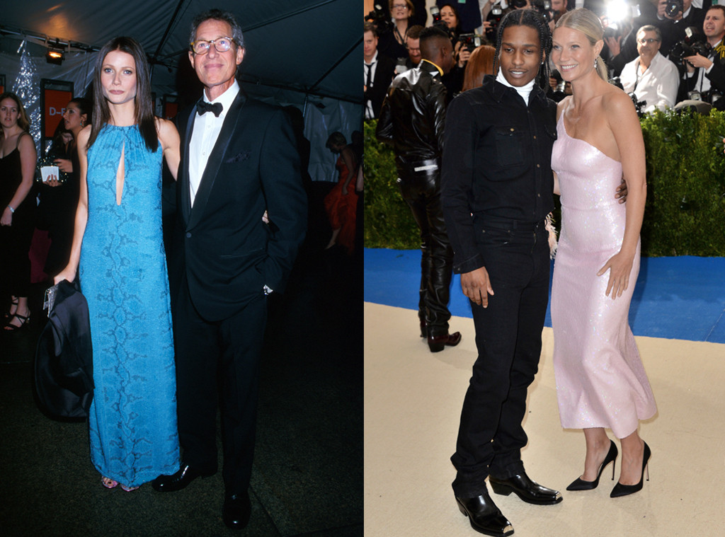 Gwyneth Paltrow, Bruce Paltrow, ASAP Rocky, MET Gala Then and Now