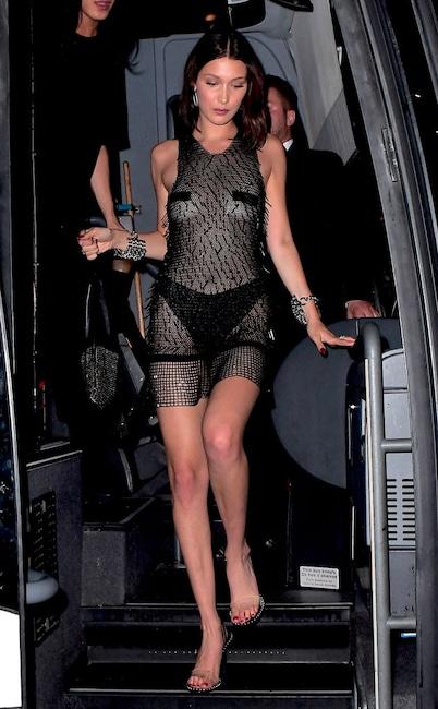 Bella Hadid, 2017 At The Met Gala After-Party Pics