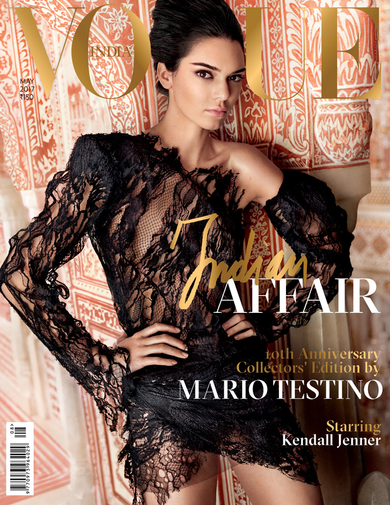 ESC: Kendall Jenner, Vogue India, Embargo