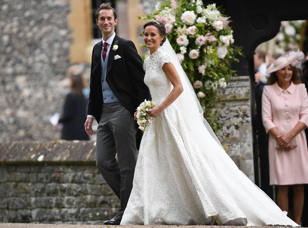 Photo 766196 from pippa middleton james matthews for Wedding dress like pippa middleton