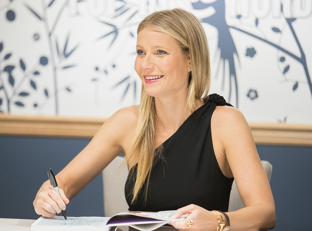 Gwyneth Paltrow, Book Signing