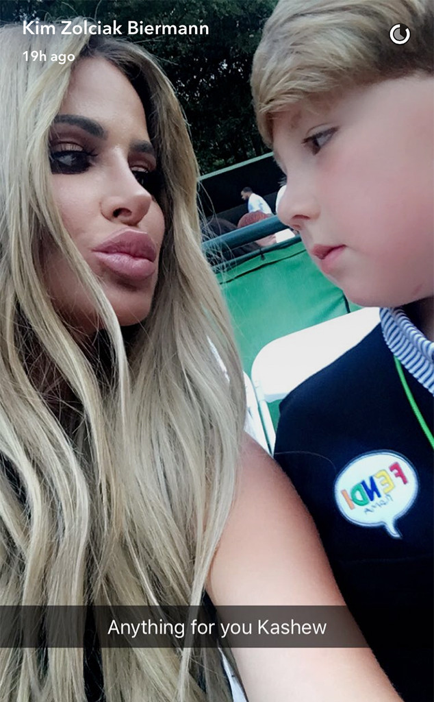 Kim Zolciak-Biermann, Kash, John Legend Concert