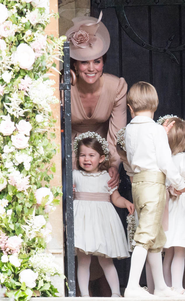 Princess Charlotte, Kate Middleton, Pippa Middleton and James Matthews Wedding