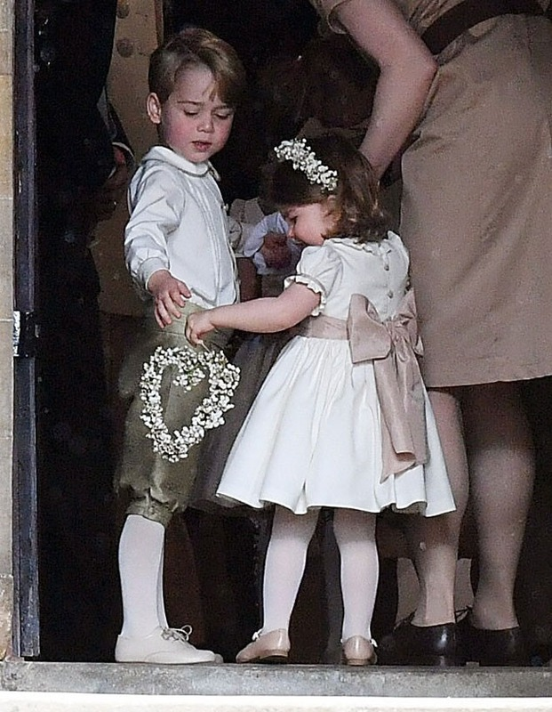 f87349ba7 Prince George and Princess Charlotte's Wedding Outfits Are Surprisingly  Affordable