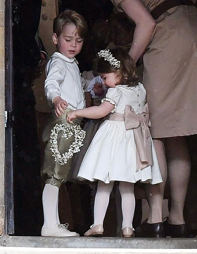 Matrimonio Pippa Middleton : Prince george and princess charlotte are adorable as ever at pippa