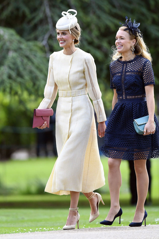 Donna Air, Pippa Middleton and James Matthews Wedding