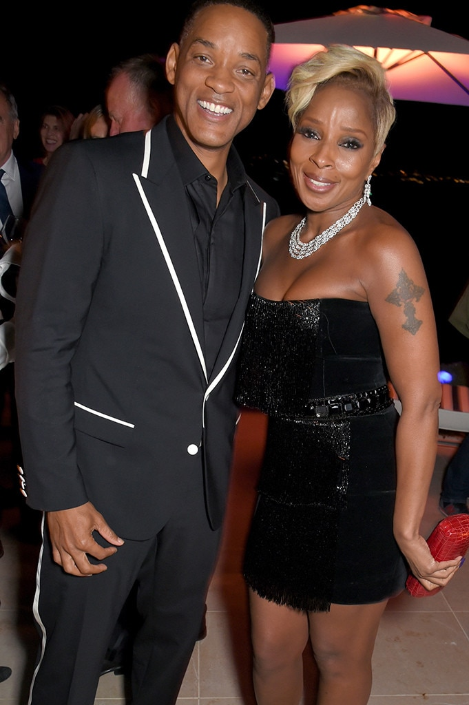 Mary J. Blige, Will Smith, Vanity Fair Party, Cannes