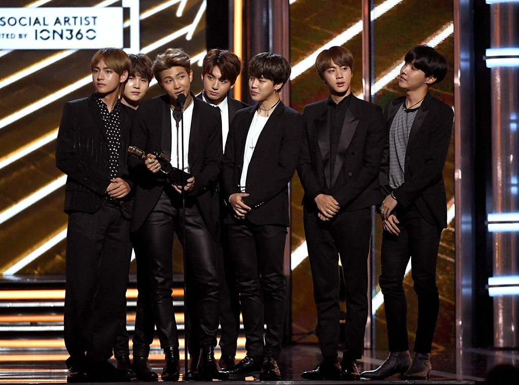 BTS - The Group of 2018