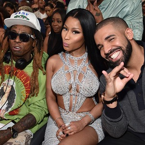 Lil Wayne, Nicki Minaj, Drake, 2017 Billboard Music Awards