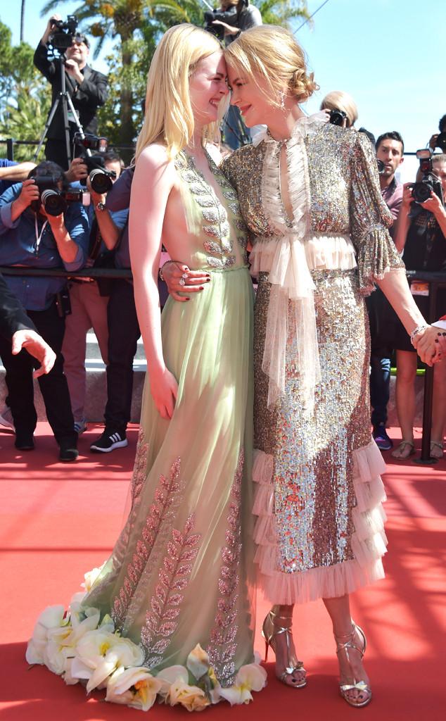 Elle Fanning, Nicole Kidman, Cannes