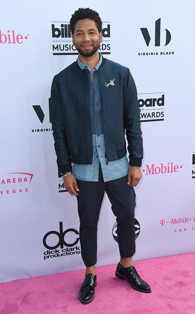 Jussie Smollett, 2017 Billboard Music Awards, Arrivals