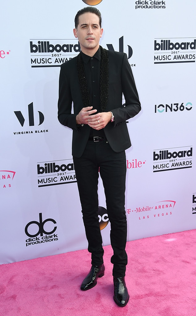 G-Eazy -  A sequin lapel elevated the rapper's sophisticated suit in 2017.