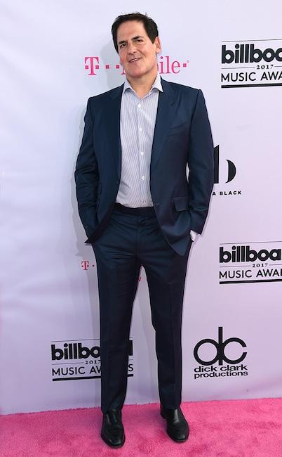 Mark Cuban, 2017 Billboard Music Awards, Arrivals