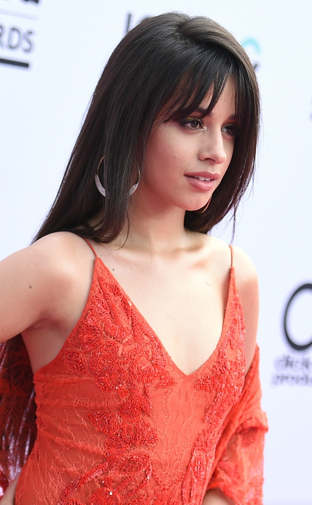 Camila Cabello From Lazy Hair Trends From Billboard Music Awards