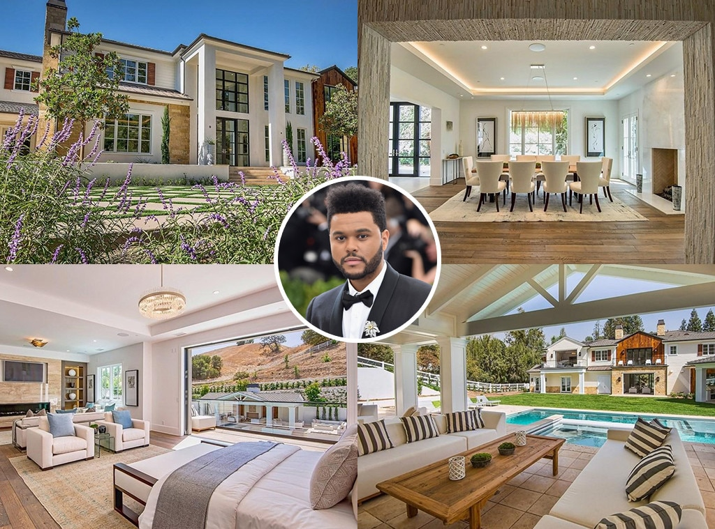 The Weeknd -  A few months after he and  Selena Gomez  parted ways, the R&B singer became the proud owner of a $20 million estate in Hidden Hills, Calif.